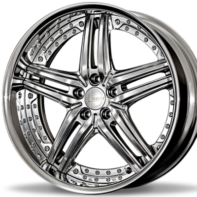 ホイール: Amistad REIHEN S05 ホイールサイズ: 8.0J-20 タイヤ銘柄: YOKOHAMA ADVAN SPORT V105S タイヤサイズ: 225/35R20 タイヤ&ホイール4本セット【20インチ】