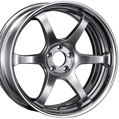 ホイール: SSR REINER type6 ホイールサイズ: 8.5J-20 タイヤ銘柄: YOKOHAMA ADVAN SPORT V105S タイヤサイズ: 225/35R20 タイヤ&ホイール4本セット【20インチ】