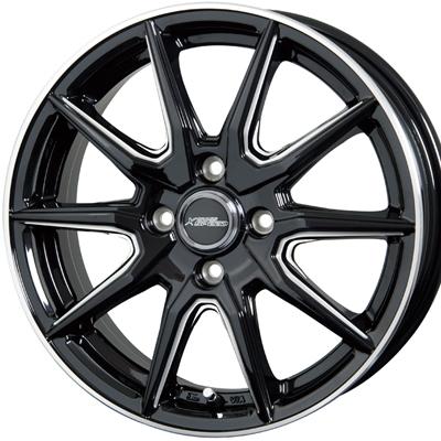 ホイール: HOTSTUFF CROSS SPEED PREMIUM RS10 ホイールサイズ: 4.5J-15 タイヤ銘柄: YOKOHAMA BluEarth RV-02CK タイヤサイズ: 165/55R15タイヤ&ホイール4本セット【15インチ】