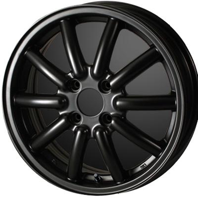 ホイール: DOALL Fenice RX1 ホイールサイズ: 4.5J-14 タイヤ銘柄: TOYO TIRES TRANPATH Lu K タイヤサイズ: 155/65R14タイヤ&ホイール4本セット【14インチ】