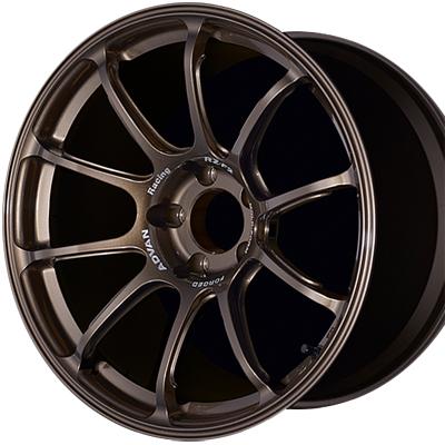 ホイール: YOKOHAMA ADVAN Racing RZ-F2 ホイールサイズ: 9.5J-18 ホイールカラー: レーシングアーバンブロンズ(RUB) 1本【ホイール単品】ヨコハマ アドバンレーシング