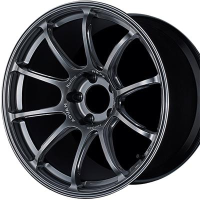 ホイール: YOKOHAMA ADVAN Racing RZ-F2 ホイールサイズ: 8.0J-18 ホイールカラー: レーシングハイパーブラック(HB) 1本【ホイール単品】ヨコハマ アドバンレーシング