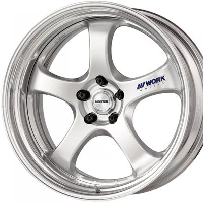 ホイール: WORK MEISTER S1R ホイールサイズ: 8.5J-20 タイヤ銘柄: YOKOHAMA ADVAN SPORT V105S タイヤサイズ: 245/30R20 タイヤ&ホイール4本セット【20インチ】