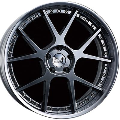 ホイール: SUPER STAR LEON HARDIRITT Stein ホイールサイズ: 8.5J-20 タイヤ銘柄: FALKEN AZENIS FK510 タイヤサイズ: 225/35R20 タイヤ&ホイール4本セット【20インチ】