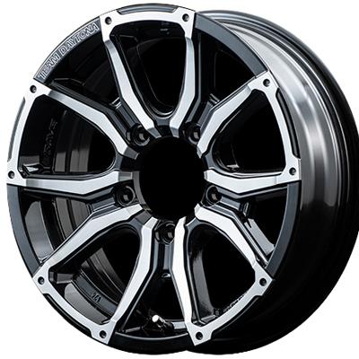 ホイール: RAYS TEAM DAYTONA STX-J ホイールサイズ: 5.5J-16 タイヤ銘柄: TOYO OPEN COUNTRY A/T plus タイヤサイズ: 175/80R16 タイヤ&ホイール4本セット【16インチ】