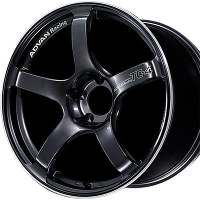 ホイール: YOKOHAMA ADVAN Racing TC-4 ホイールサイズ: 7.5J-18 タイヤ銘柄: DUNLOP ENASAVE RV505 タイヤサイズ: 225/50R18 タイヤ&ホイール4本セット【18インチ】