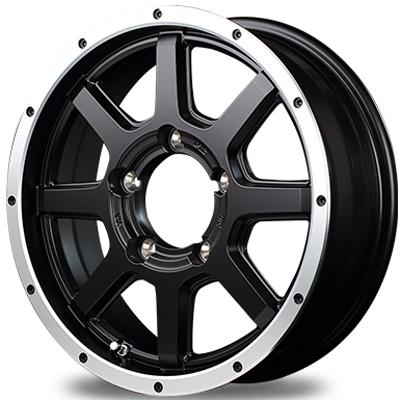 ホイール: MID ROADMAX WF-8 ホイールサイズ: 5.5J-16 タイヤ銘柄: DUNLOP GRANDTREK MT2 タイヤサイズ: 7.00R16 タイヤ&ホイール4本セット【16インチ】