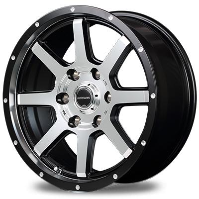 ホイール: MID ROADMAX WF-8 ホイールサイズ: 7.5J-17 タイヤ銘柄: BF Goodrich ALL-Terrain T/A KO2 タイヤサイズ: 265/65R17 タイヤ&ホイール4本セット【17インチ】