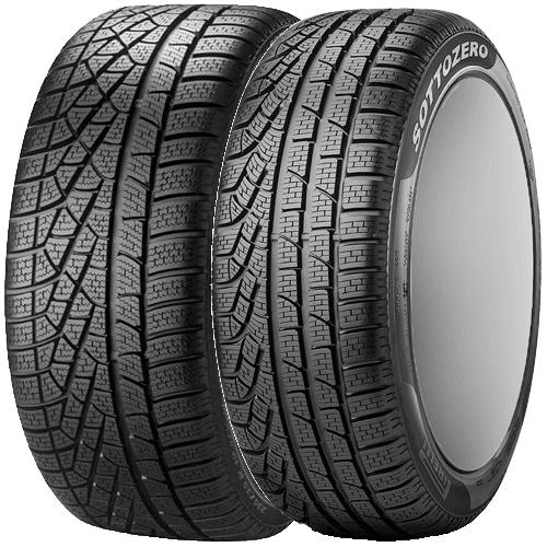 ボルボ V60(ZB420)用 タイヤ銘柄: ピレリ ウィンター 240ソットゼロ Serie II タイヤサイズ: 235/45R18 ホイール: アルミホィール ウィンタータイヤ&ホイール4本セット【18インチ】