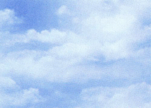包装紙の種類は90柄以上 至上 お好み ご用途に応じてお選びください ギフ_包装 清々しい雲の柄です ブルー 包装紙 半切 クラウド