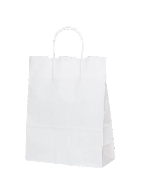紙袋 手提げ T-X 白無地 A-4が入るサイズ 店舗資材 代引き不可 ギフトにも最適業務用 50枚入り定番の片艶紙を使用 シンプルな無地で幅広いご用途に 紙手提げ袋 260×110×330 カラー白無地 完売 A-4が入る 業務用50枚入り