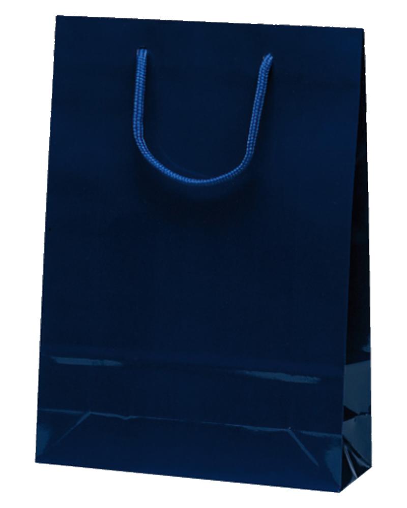 正規激安 紙袋の取り扱い種類200点以上 アウトレット 安価な紙袋から高級感のある紙袋など多数揃えております 紙手提げ袋 10枚入 ナイスバッグ ネイビー