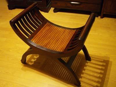 アジアン家具 木製 バリ ♪バンブーカルティーニチェア♪ インテリア おしゃれ エスニック