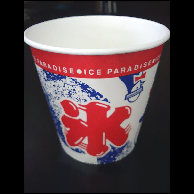 25%OFF シロップ カップ スプーン 公式 かき氷50杯セットC-激安カキ氷セット 氷旗の4点セット