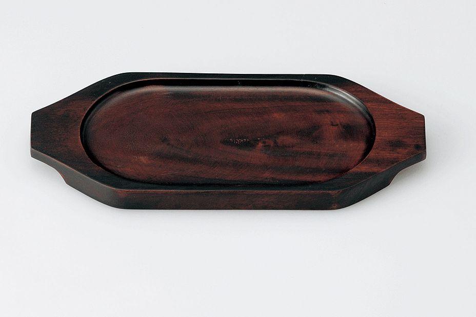 グラタン皿 耐熱敷台 敷台 安心の実績 高価 買取 希望者のみラッピング無料 強化中 敷板_舟形 木製