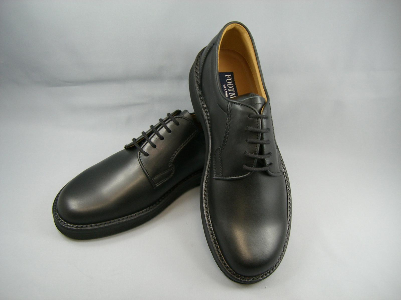 Footmate フットメイトビジネス やや幅広4E 黒 1851 BL 4E