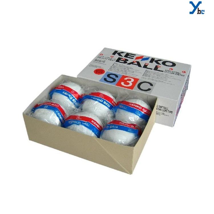 ナガセ ケンコー ソフトボール 3号球 検定球 4ダース 48球セット 用具関連
