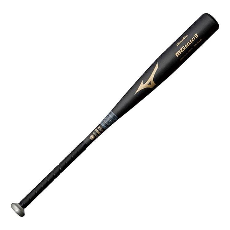 【硬式用バット 金属バット】 ミズノ mizuno グローバルエリート 金属製 MGセレクト3 1CJMH103 高校野球対応 ギア トップバランス 野球 硬式バット