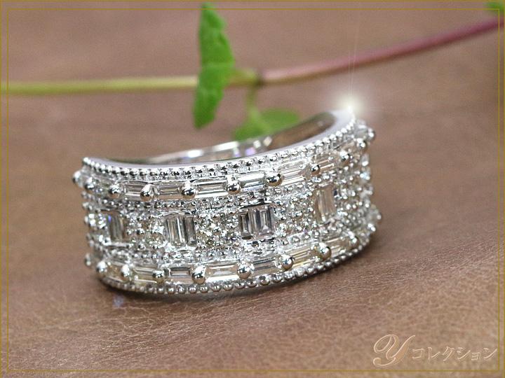 ★クーポンで20%OFF対象★1カラット ダイヤモンド PT900プラチナリング 指輪 普段使いしやすい1.00ctのダイヤリング (各地金素材対応可能) ママにオススメ日常使いリング 受注品/