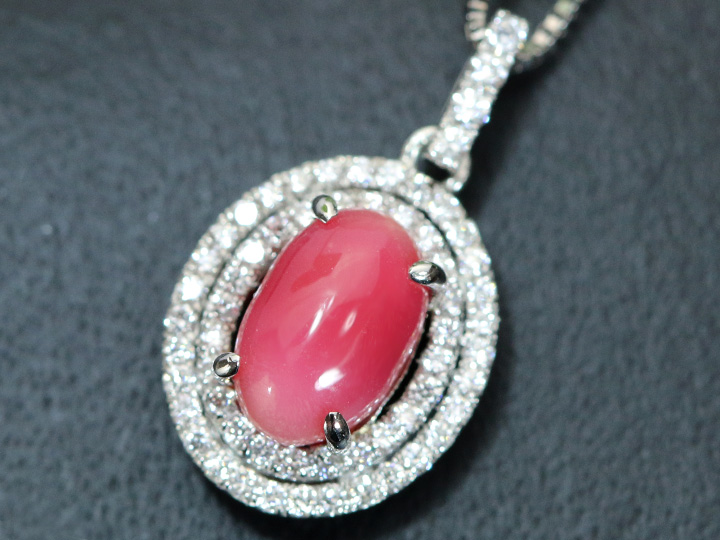 Best Quality Free Gift Box 10k Two-tone Sweet 15 Oval Pendant