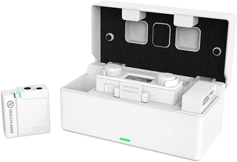 [国内総代理店] HOLLYLAND LARK150 ソロワイヤレスマイクロフォンシステム[カラー:White]