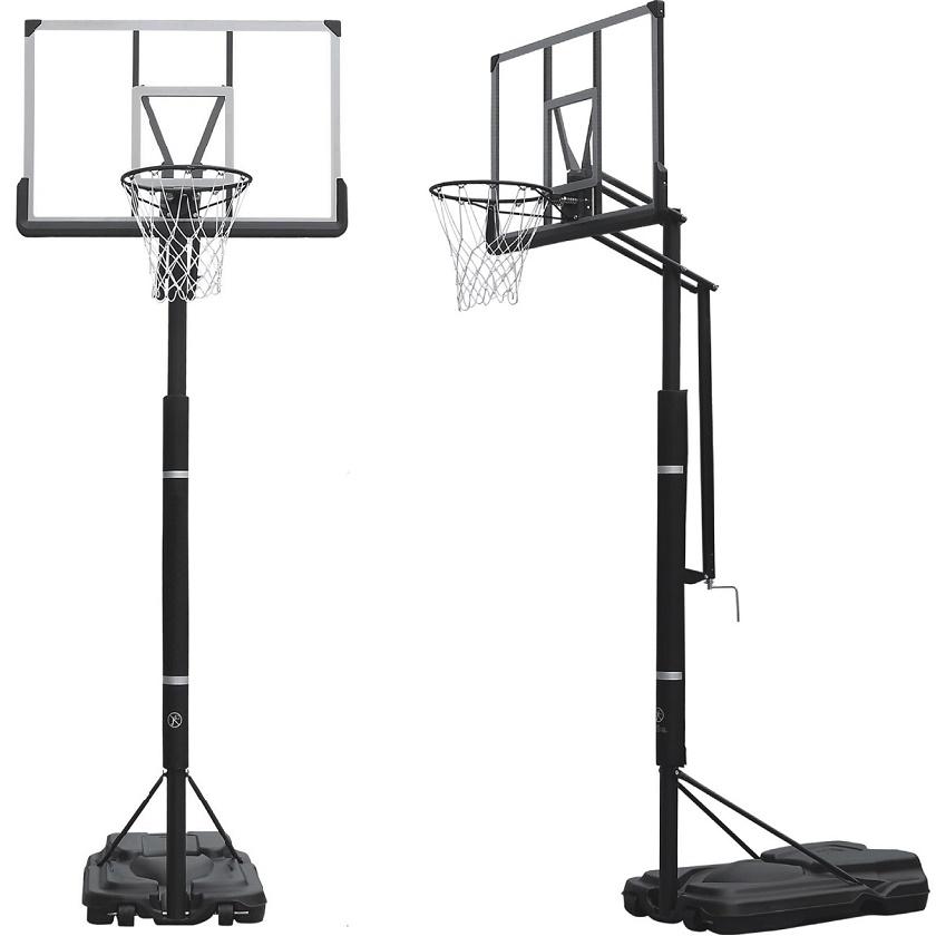 訳あり品 ハンドル式で無段階で高さ調整が可能 限定販売 ハンドルを回すだけの簡単高さ調節 BG-305DX セットアップ 買物 バスケットゴール バスケットボール ゴール 家庭用 バックボード リング 屋外