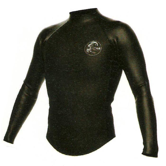 オニール (O'NEILL) メンズ スーパーライト クラシック ロングスリーブ タッパー ウェットスーツ 長袖ジャケット 背中ジップ 2mm SUPERLITE for SURF LONGTAPPERラバー