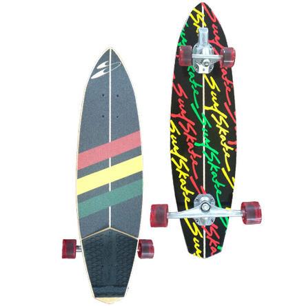 サーフスケートスタナー(SurfSkate Stunner) SKATEBOARD/ラスタRASTA