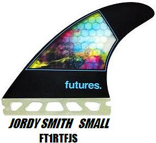 フューチャーフィンシステム(FUTURE FINS)JORDY SMITH SMALL ジョーディジョディースミススモール 3本セット