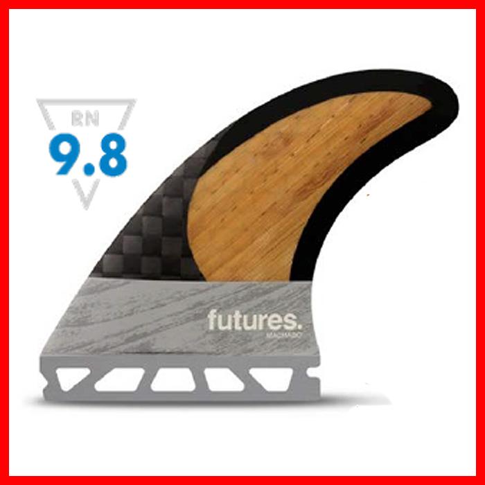 """郵送指定で送料無料-代引決済不可""""フューチャーズフィンシステム(FUTURES FINS)ロブマチャドシグニチャーカーボンバンブー3本セットROB MACHADO 2.0 CARBON BAMBOOO""""フィンサーフィン選び方サーフィン グローブ ブーツのフィンシステムショートボード用"""