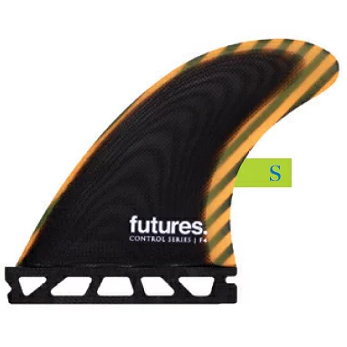 フューチャーズフィンシステム(FUTURES FINS)コントロールカーボンファイバーエフフォー3本セットF4 1.5S CARBON FIBER