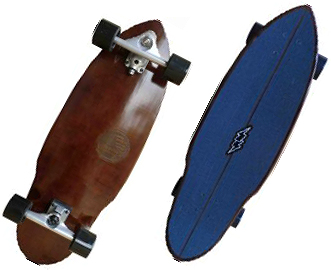 """放映裝置衝浪溜冰(SLIDE SURF SKATE BOARD)WAVE SEED波種子32""/SKATEBOARD滑板/衝浪衝浪衝浪運動員SURFIN SURF SURFER便利"