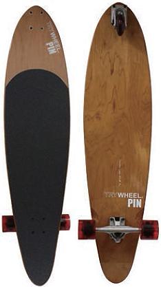 トライウィール (TRY WHEEL) スケートボード バンブー43インチ(109.2cm) PINピン