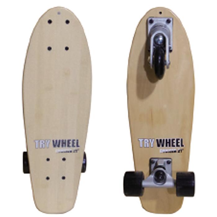 トライウィール (TRY WHEEL) スケートボード クルーザー21インチ(53.3cm) CRUISER《送料無料》/サーフ サーフィン サーファー スケートボード SKATEBOARD 練習 おすすめ カーバー サイズ ペニー