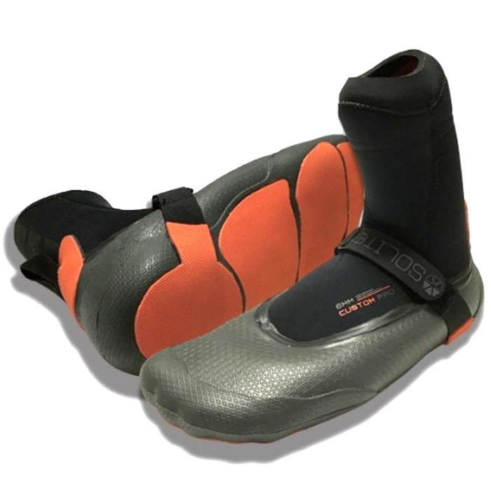 ソライト (SOLITE) カスタムプロ サーフブーツ 先割れ 6ミリ サーフィン 6mm CUSTOM PRO SURFIN BOOTS 郵送ならば送料無料--代引き決済不可 ウェットスーツ履き方 生地 グローブ 防寒 マジック ワークマン 干し方 熱成型 男女兼用 ユニセックス 裏起毛 ネオプレーン