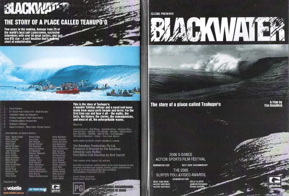 《試写見れます》BLACK WATER The story of a place called ブラック ウォーター