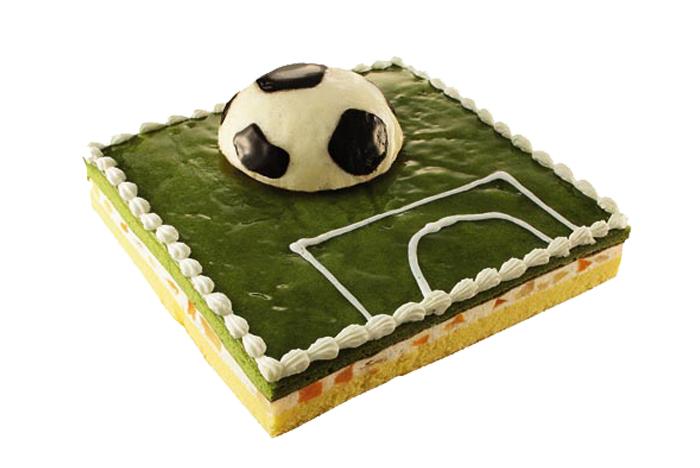 糕点/ 蛋糕 / 茶足球场蛋糕图片