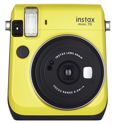FUJIFILM インスタントカメラ チェキ instax mini 70 イエロー INS MINI 70N YELLOW