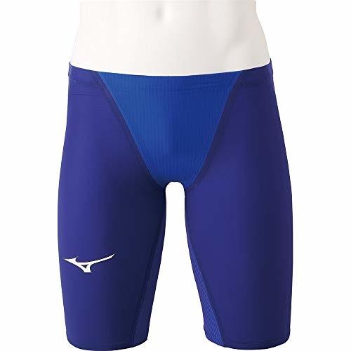 MIZUNO(ミズノ) 競泳水着 レース 大会用 ジュニア ボーイズ GX・SONIC IV STハーフスパッツ FINA(国際水泳連盟)承認済 N2MB900127 サイズ:140 ブルー