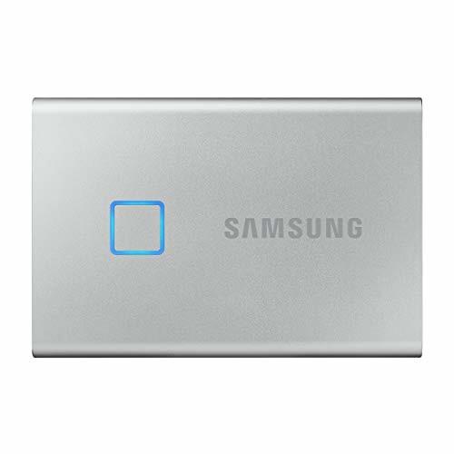 Samsung T7 Touch 2TB USB3.2 Gen2 外付けSSD (ポータブルSSD) MU-PC2T0S/EC 国内正規保証品