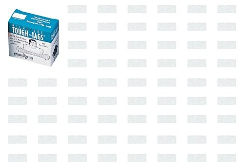 アズワン マイクロチューブ用ラベル 1.5mL用ホワイト M-40014 (1000枚入り) /2-5304-05
