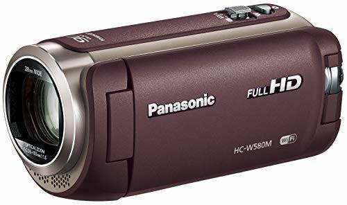 【ポイント5倍】パナソニック HDビデオカメラ W580M 32GB サブカメラ搭載 高倍率90倍ズーム ブラウン HC-W580M-T