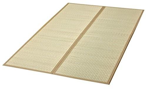 イケヒコ い草 ラグ カーペット DX沖縄ビーグ 約130×200cm 日本製 裏 不織布 #7608450