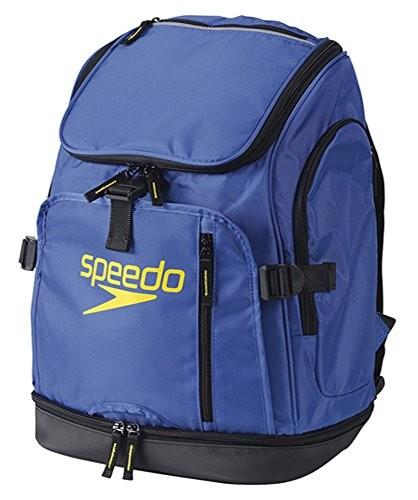 Speedo(スピード) プールバッグ 水泳 スイマーズリュック M SD96B02 ブルー BL