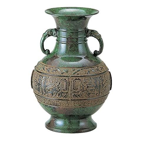 竹中銅器 銅製花瓶 京ダルマ筋入 8号 106-57