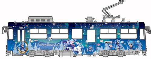 雪米庫地鐵2017年型號札幌市交通局3300形狀地鐵1/150塑料模型[FUJIMI模型]