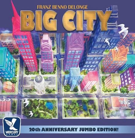 ビッグシティ:20周年記念版 日本語訳ルール付属