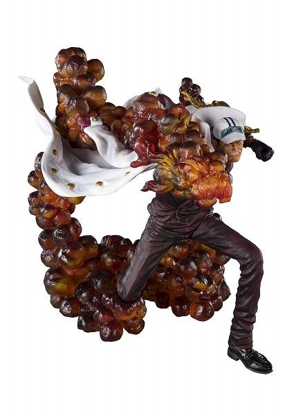 """【2020年2月予約】 フィギュアーツZERO [EXTRA BATTLE] """"三大将"""" サカズキ -赤犬- 塗装済み完成品〔BANDAI SPIRITS〕(191004予約開始)"""
