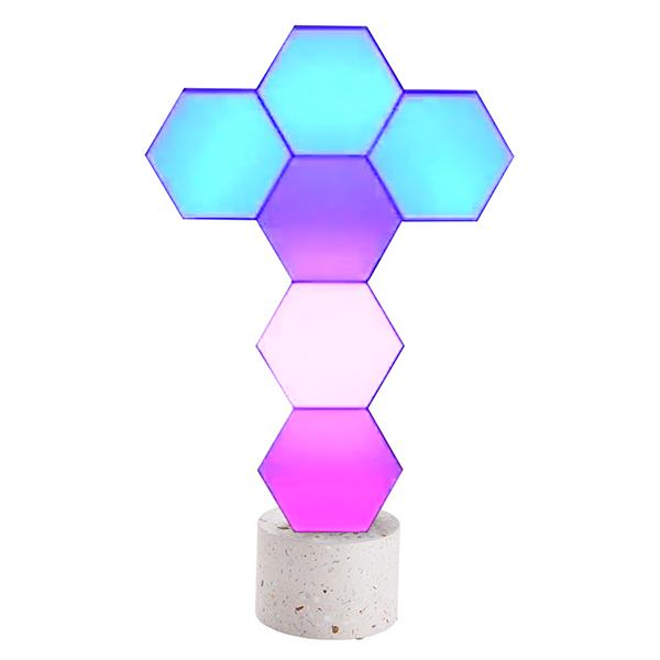 送料無料【6個セット・スタンド付】 スマートLED Wi-Fi スマート電球 LED電球 Amazon Alexa/Google Assistant対応 調光 調色