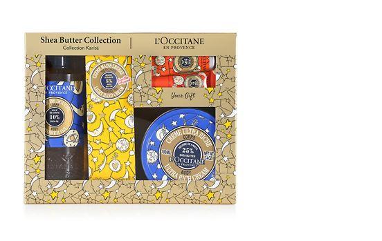 LOCCITANE ロクシタン ジョイフルスター シアバター コレクションクリスマスコフレ2018限定 ハンドケア ハンドクリーム